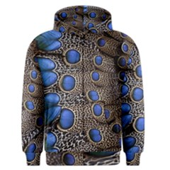 Feathers Peacock Light Men s Zipper Hoodie