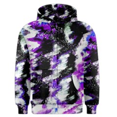 Abstract Canvas Acrylic Digital Design Men s Zipper Hoodie by Amaryn4rt