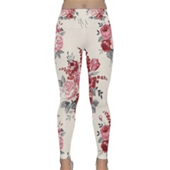 Rose Beauty Flora Classic Yoga Leggings by Jojostore