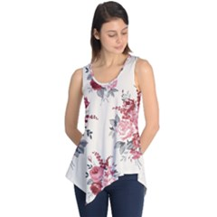 Rose Beauty Flora Sleeveless Tunic by Jojostore