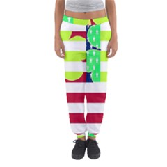 Usa Ireland American Flag Shamrock Irish Funny St Patrick Country Flag  Women s Jogger Sweatpants by yoursparklingshop