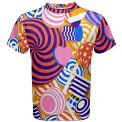 Canddy Color Men s Cotton Tee