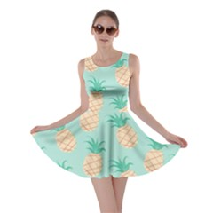 Cute Pineapple Skater Dress by Brittlevirginclothing