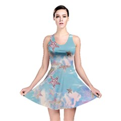 Pastel Stars Reversible Skater Dress by Brittlevirginclothing