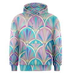 Colorful Lila Toned Mosaic Men s Pullover Hoodie by Brittlevirginclothing