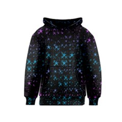 Stars Pattern Seamless Design Kids  Pullover Hoodie by Amaryn4rt