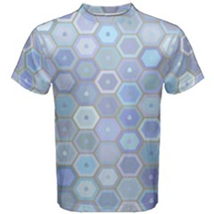 Bee Hive Background Men s Cotton Tee by Amaryn4rt