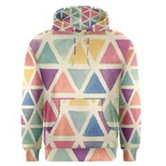 Colorful Triangle Men s Pullover Hoodie by Brittlevirginclothing