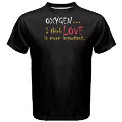 Black Love Is Important Men s Cotton Tee by FunnySaying