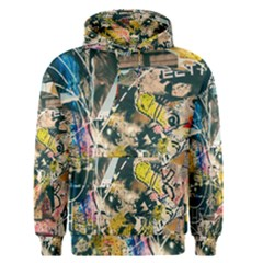 Art Graffiti Abstract Vintage Men s Pullover Hoodie by Nexatart