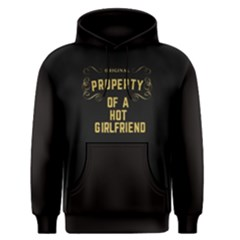 Black Property Of A Hot Girlfriend Men s Pullover Hoodie by FunnySaying