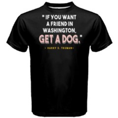 Get A Dog   Men s Cotton Tee