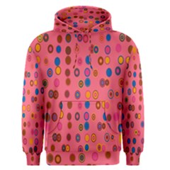 Circles Abstract Circle Colors Men s Pullover Hoodie by Nexatart