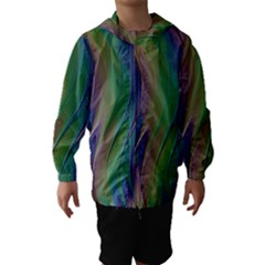 Texture Abstract Background Hooded Wind Breaker (kids) by Nexatart