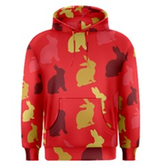 Hare Easter Pattern Animals Men s Pullover Hoodie by Amaryn4rt
