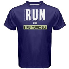 Run And Find Yourself - Men s Cotton Tee