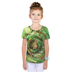 Canvas Acrylic Design Color Kids  One Piece Tee by Simbadda