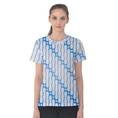 Batik Pattern Women s Cotton Tee by Simbadda
