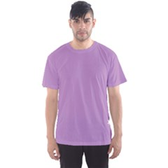 Purple Flagred White Star Men s Sport Mesh Tee