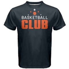 Basketball Club - Men s Cotton Tee by FunnySaying