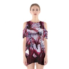 Jellyfish Ballet Wind Shoulder Cutout One Piece by Simbadda