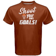 Shoot Your Own Goals - Men s Cotton Tee by FunnySaying
