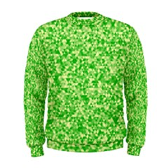 Specktre Triangle Green Men s Sweatshirt by Alisyart