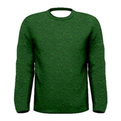 Texture Green Rush Easter Men s Long Sleeve Tee by Simbadda