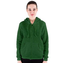 Texture Green Rush Easter Women s Zipper Hoodie by Simbadda