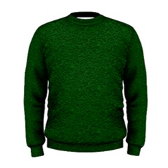 Texture Green Rush Easter Men s Sweatshirt by Simbadda