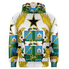 Coat Of Arms Of Ghana Men s Zipper Hoodie by abbeyz71