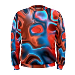 Abstract Fractal Men s Sweatshirt by Simbadda