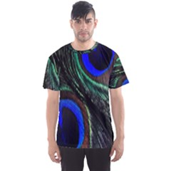 Peacock Feather Men s Sport Mesh Tee by Simbadda