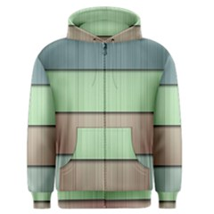 Modern Texture Blue Green Red Grey Chevron Wave Line Men s Zipper Hoodie by Alisyart