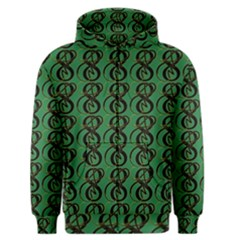 Abstract Pattern Graphic Lines Men s Zipper Hoodie by Amaryn4rt