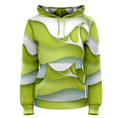 Tree Wood  White Green Women s Pullover Hoodie by Alisyart