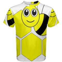 Bee Wasp Yellow Men s Cotton Tee