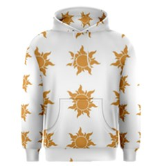 Sun Cupcake Toppers Sunlight Men s Pullover Hoodie by Alisyart