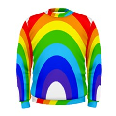Rainbow Men s Sweatshirt by Alisyart