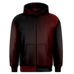 Abstract Dark Simple Red Men s Zipper Hoodie by Simbadda