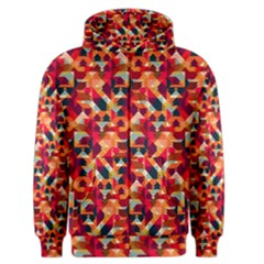 Modern Graphic Men s Zipper Hoodie by Alisyart