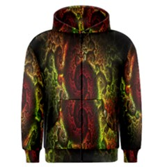 Fractal Digital Art Men s Zipper Hoodie by Simbadda