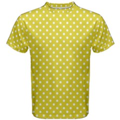 Polka Dots Men s Cotton Tee by Valentinaart