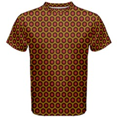 Lunares Pattern Circle Abstract Pattern Background Men s Cotton Tee by Simbadda