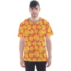 Yellow Yellow Bell Pepper  Men s Sport Mesh Tee