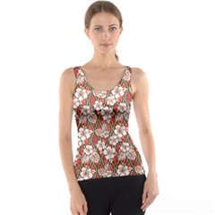 Brown Aloha Shirt Pattern Tank Top by CoolDesigns