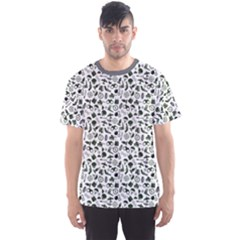 Gray Military Pattern Men s Sport Mesh Tee