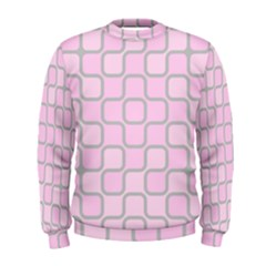 Light Pastel Pink Men s Sweatshirt by Alisyart