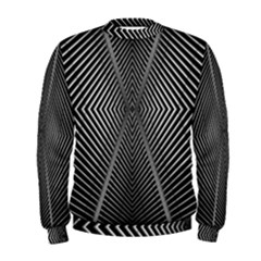 Abstract Of Shutter Lines Men s Sweatshirt by Simbadda