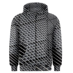 Abstract Architecture Pattern Men s Zipper Hoodie by Simbadda